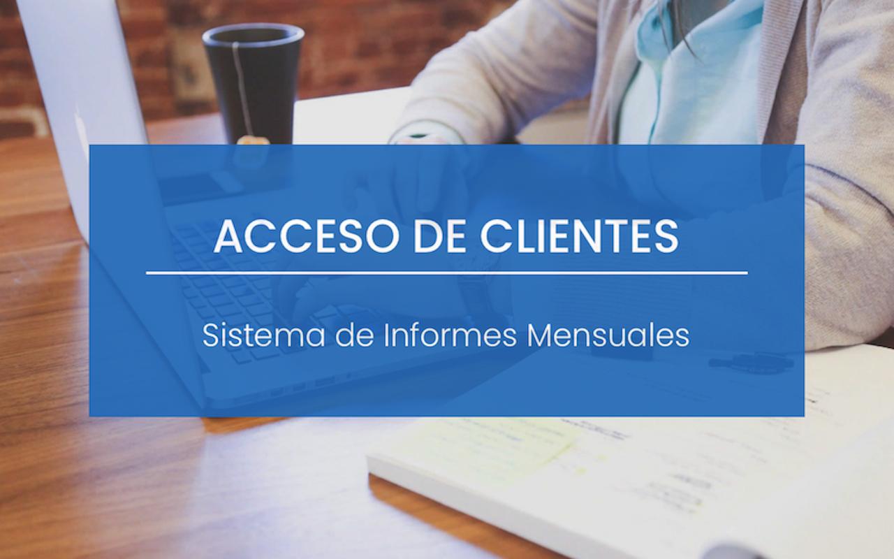 SISTEMA DE INFORMES MENSUALES